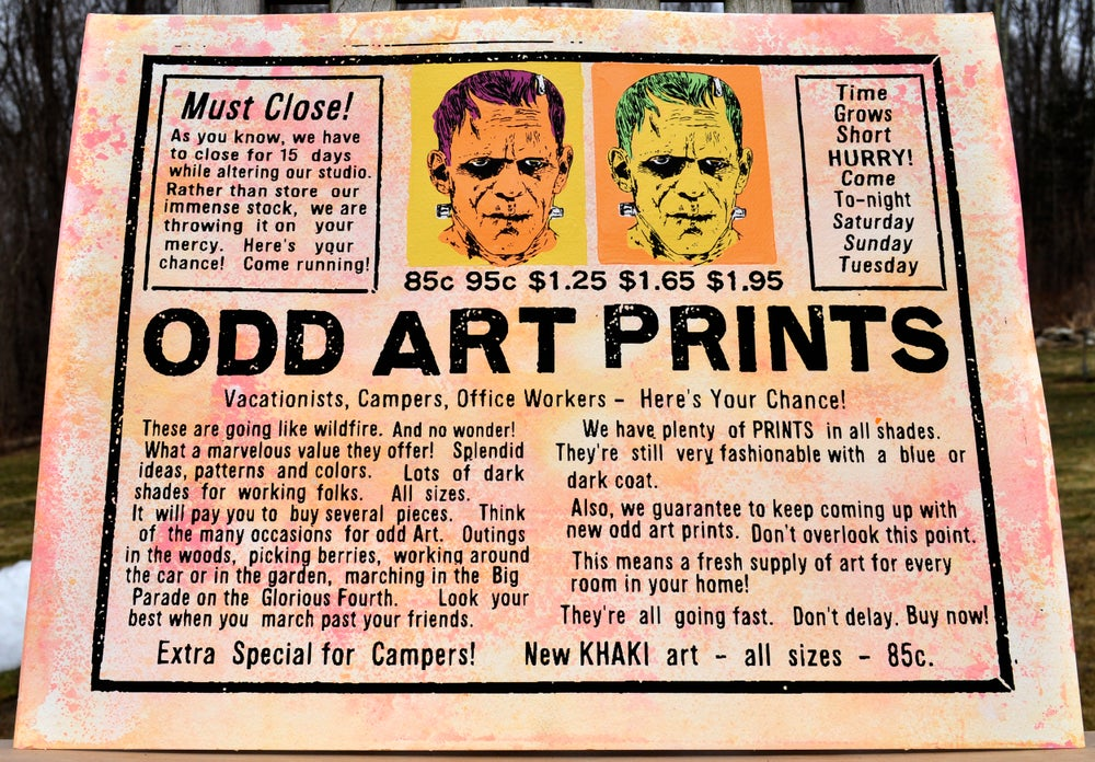 Image of Odd Art Prints
