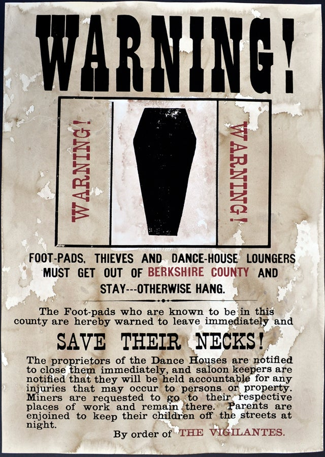 Image of Warning to Thieves & Dancehall Loungers