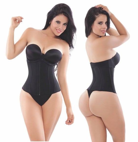 Pretty girl curves waist cincher