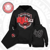 Image of The Bullies - Chicago bulls - Black - Double Nickel
