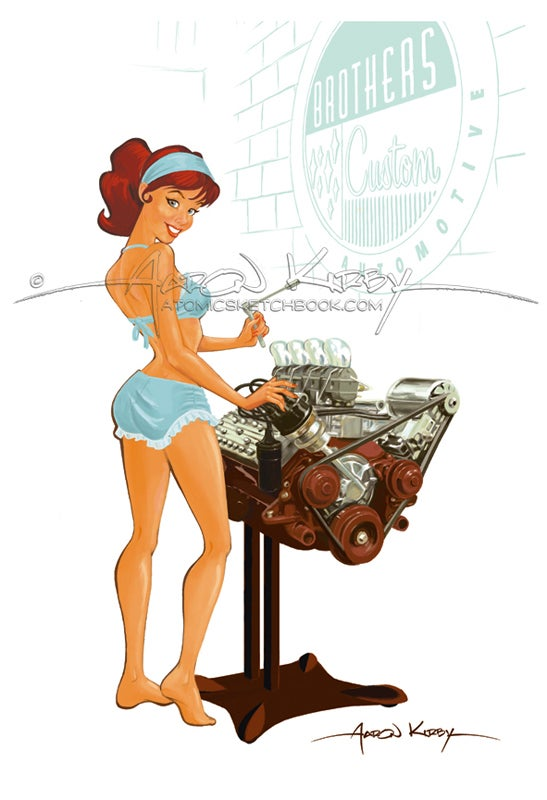 Image of Flathead pin up