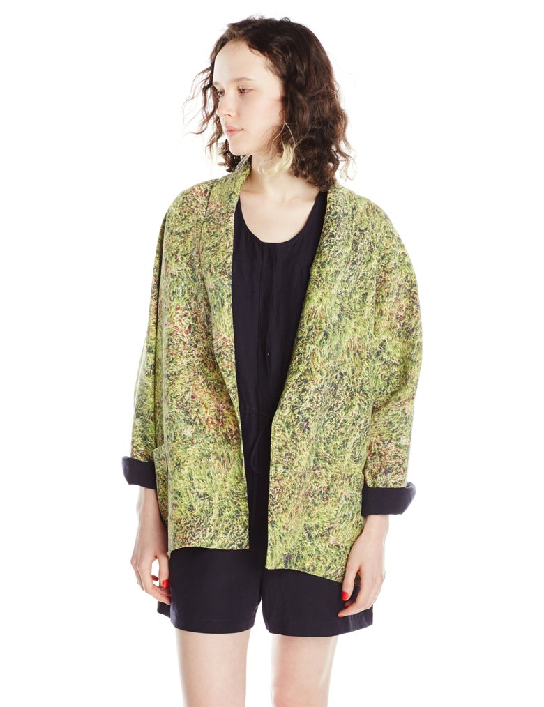 Image of GRASS LINEN JACKET