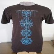"""Image of T-shirt """"Quantum Scaffolding"""""""