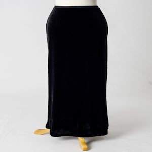 Image of Velvet A-line Skirt