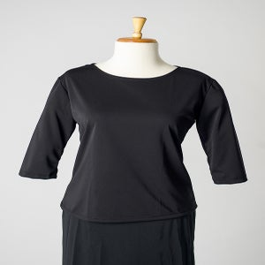 Image of Jersey Round Neck Top