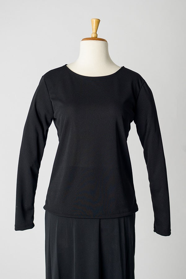 Image of Jersey Round Neck Top (Long)
