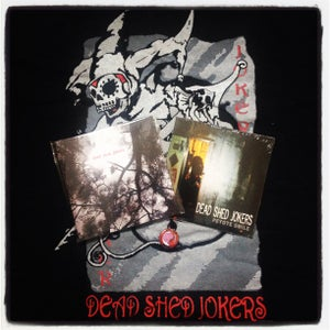 Image of Dead Shed Jokers + T Shirt Bundle