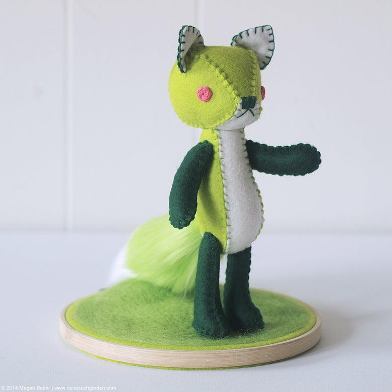 Image of Spring Fox (Green)
