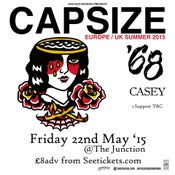 Image of CAPSIZE | '68 | CASEY | AGELAST @ The Junction, Plymouth | 22.05.15