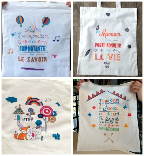 Image of Tote-bag à décorer