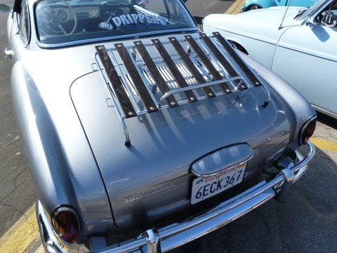 Vw Ghia Deck Lid Foreign Concepts Vw