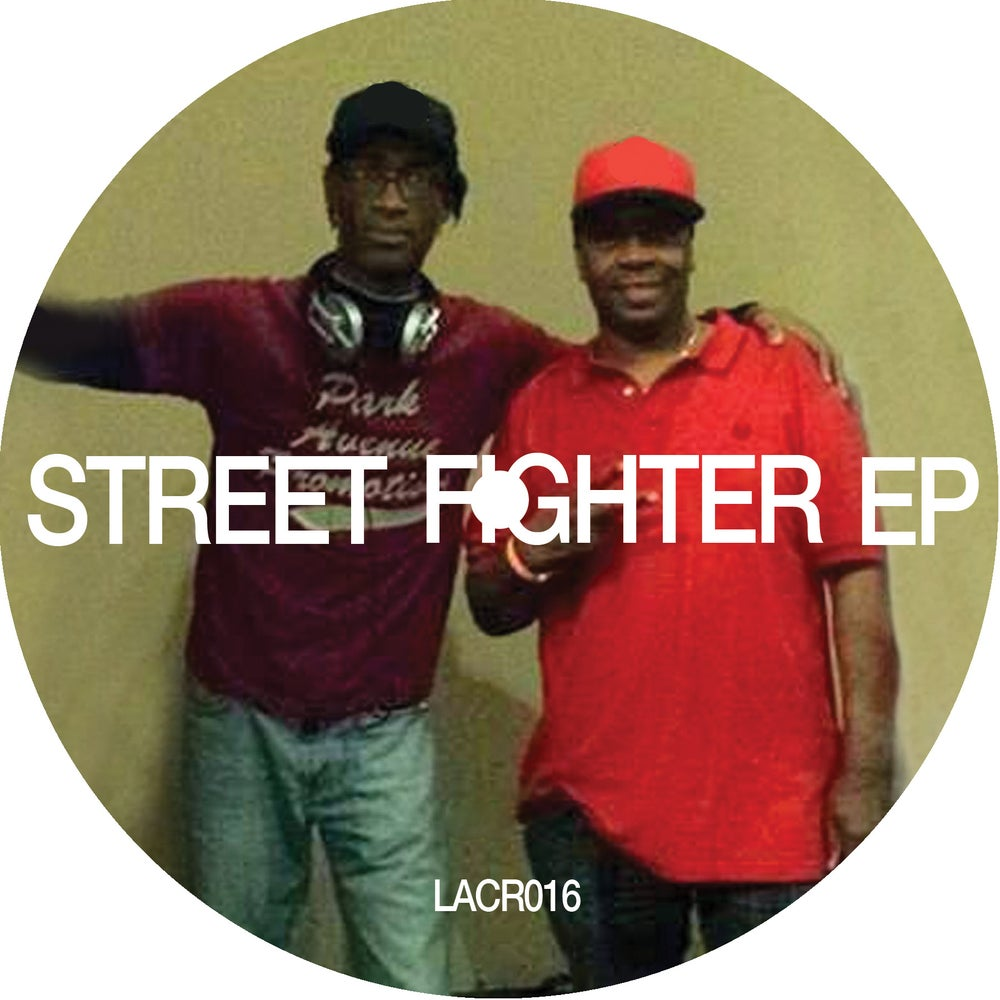 Image of [LACR016] / STEVE POINDEXTER, JOHNNY KEY & TRACKMASTER SCOTT - STREET FIGHTER EP