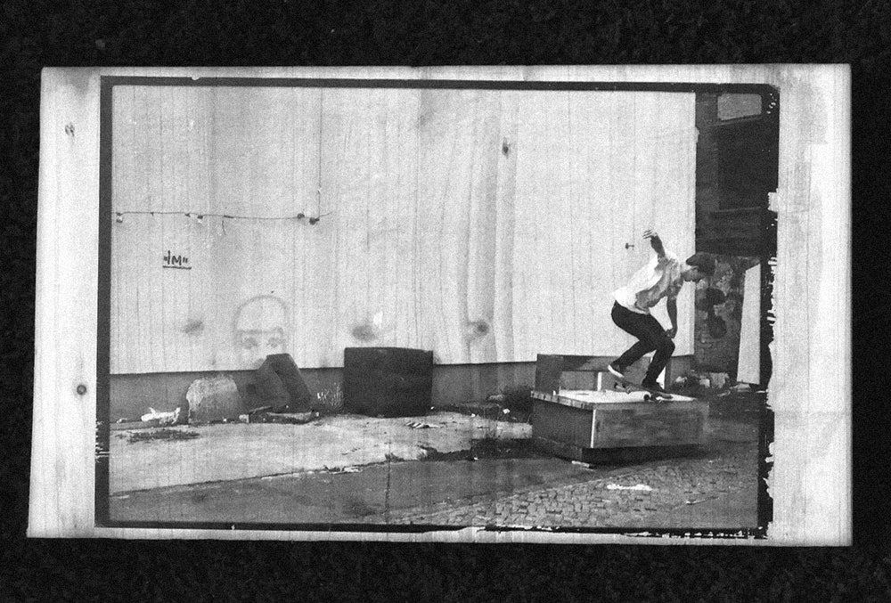 Image of Wooden Print - Malte Spitz + Propeller Island DVD