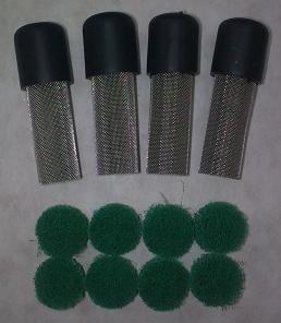 Image of Spares - Rain filter kit, MTG BKT, Post & wick kit
