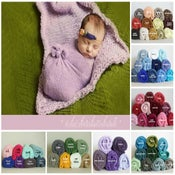 Image of Wholesale Stretch Knit Wraps Set of 50