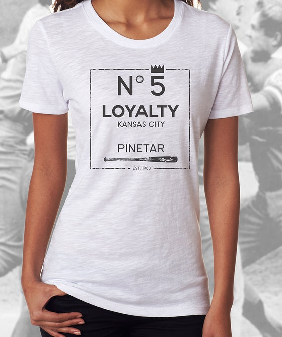 Image of Women's Loyalty No 5 Pine Tar Shirt
