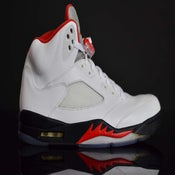 "Image of Air Jordan ""Fire Red"" 3M V (VNDS)"