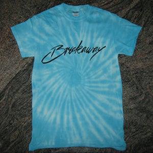 Image of 'BREAKAWAY' Tie Dye Blue