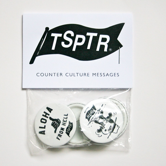 Image of TSPTR X Peanuts 4 Pin Badges Pack