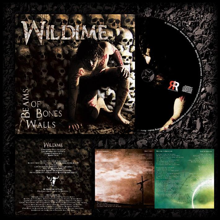 Image of Wildime -  Beams of Bones Walls