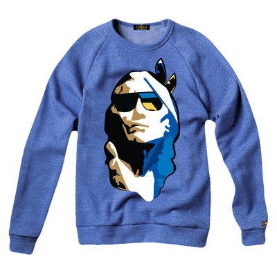 Image of CHIEF COLD CHILL SWEATSHIRT-(OCEAN BLUE)