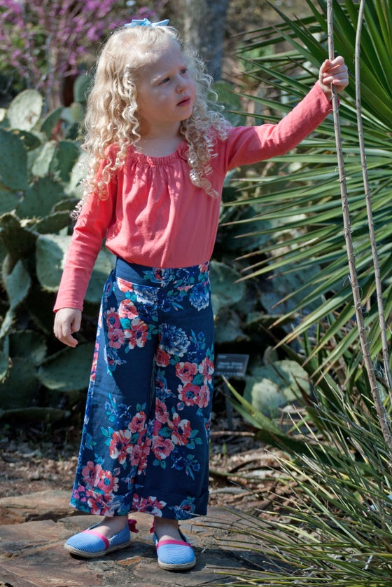 Image of Jutland Floral Linen Pants