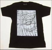 "Image of MJL ""Halftone Swirls"" Black Shirt"