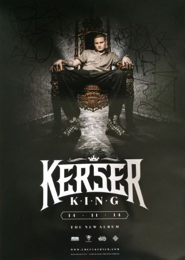 Image of KERSER KING POSTER SIGNED (LIMITED EDITION)
