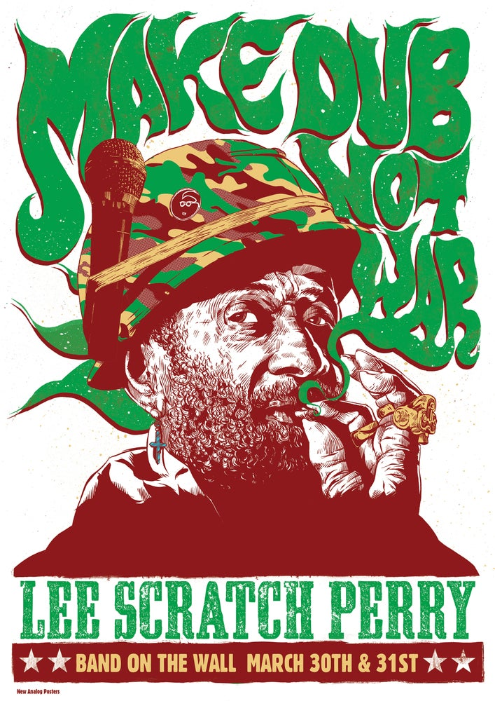 Image of Lee Scratch Perry - Band On The Wall 2015 - Variant