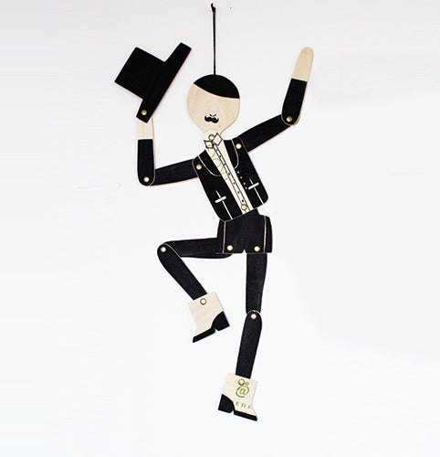 Image of DANCING MAN / BLACK