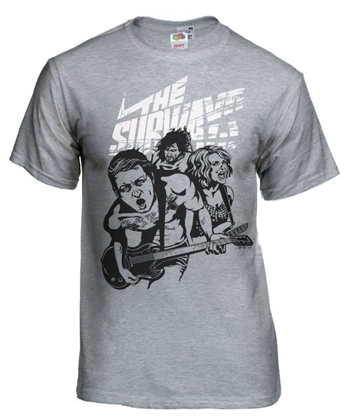 Image of NEW - EUROPEAN TOUR T-SHIRT 2015 (2-sided Sport Grey)