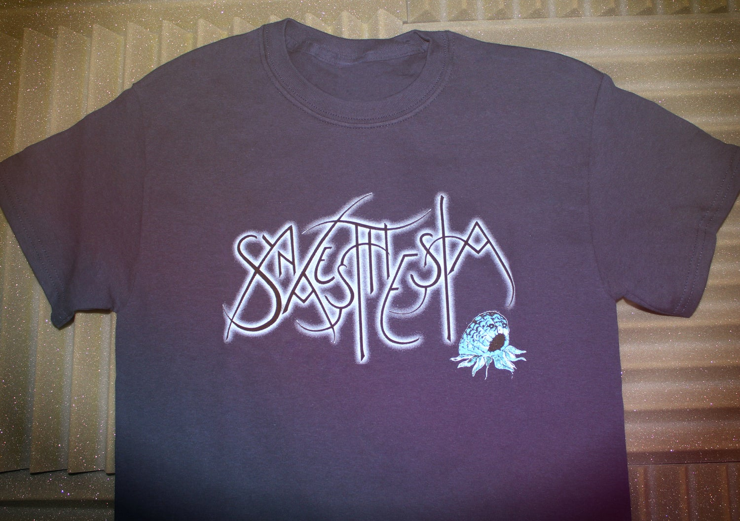 Image of 'Synaesthesia' Blue Logo Shirt LIMITED EDITION