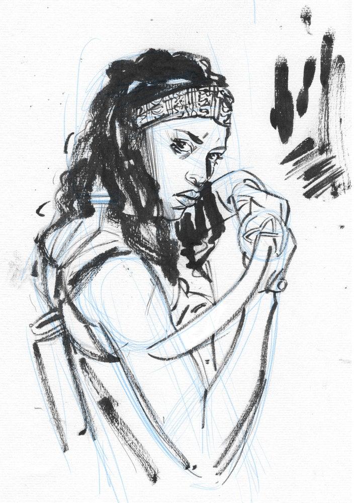 Image of Michonne - Original