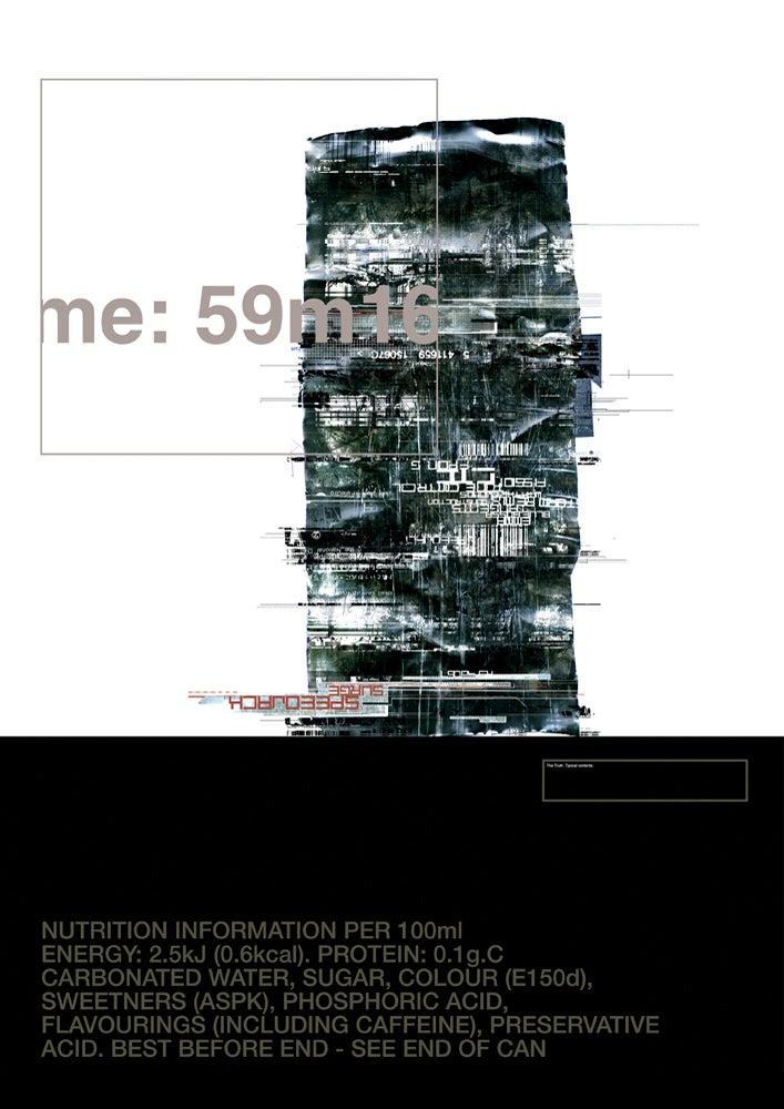 Image of 'Speedjack Surge' A3 Litho Print