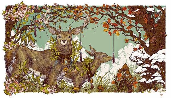 Image of Livsnjutare - Erica Williams Illustration