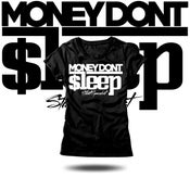 Image of Money Don't Sleep Tight Tops (ladies)