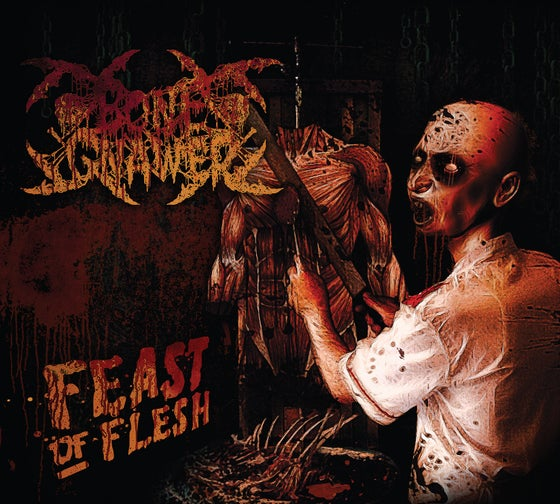 "Image of BONE GNAWER ""Feast Of Flesh"" Digipak CD"