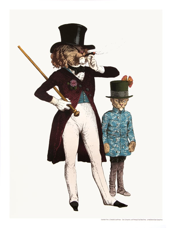 Image of The Lion Dandy and Cub // The Grandville Series
