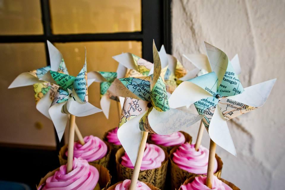 Image of paper pinwheels