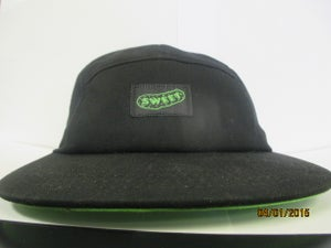 Image of 5 panel- black and sweetpickle green (og )logo