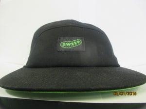 Image of 5 panel- black and sweetpickle green (og )logo