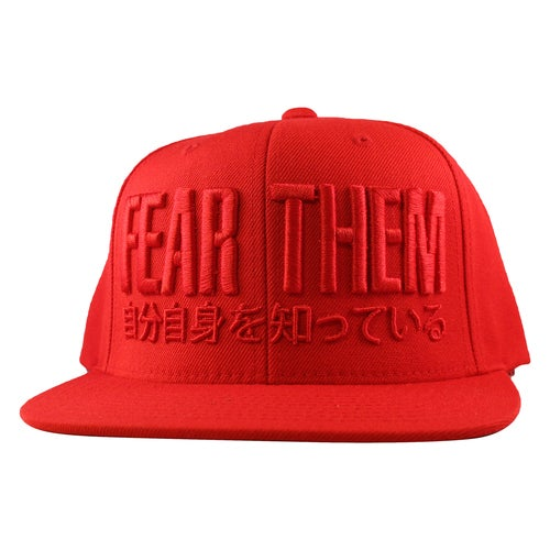 Image of FEAR THEM RED