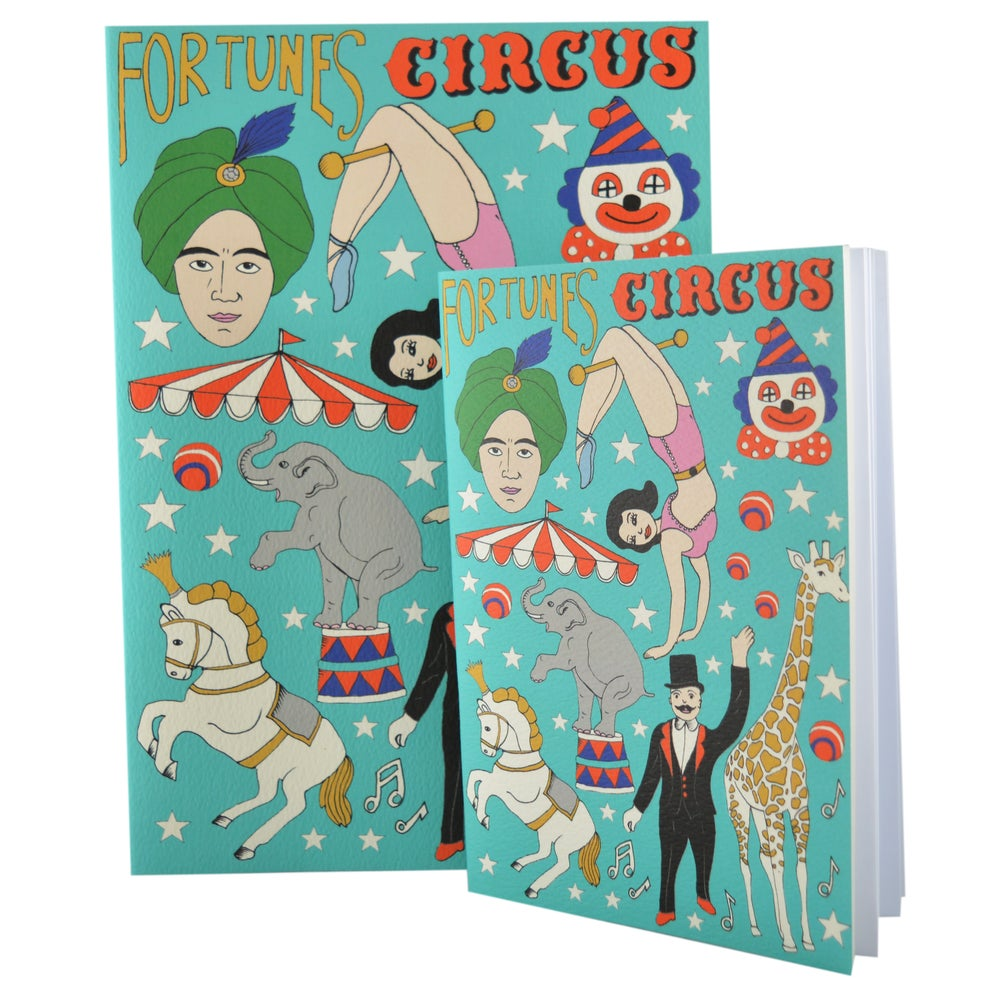 Image of Ballerina, Circus & Outline A4 and A5 Notebooks