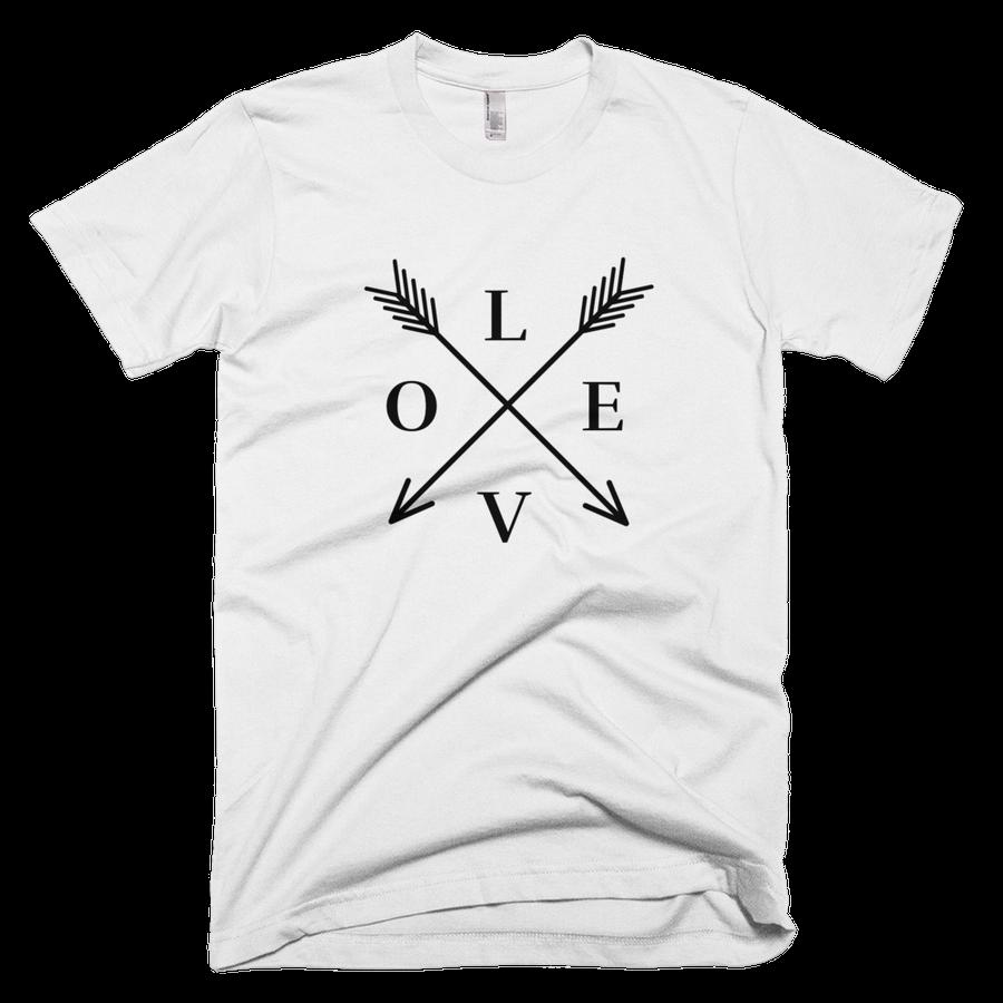 Image of LOVE tee-white