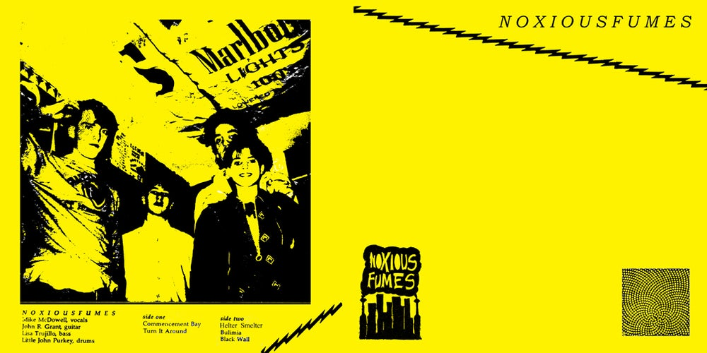 """Image of NOXIOUS FUMES -7"""" ep"""