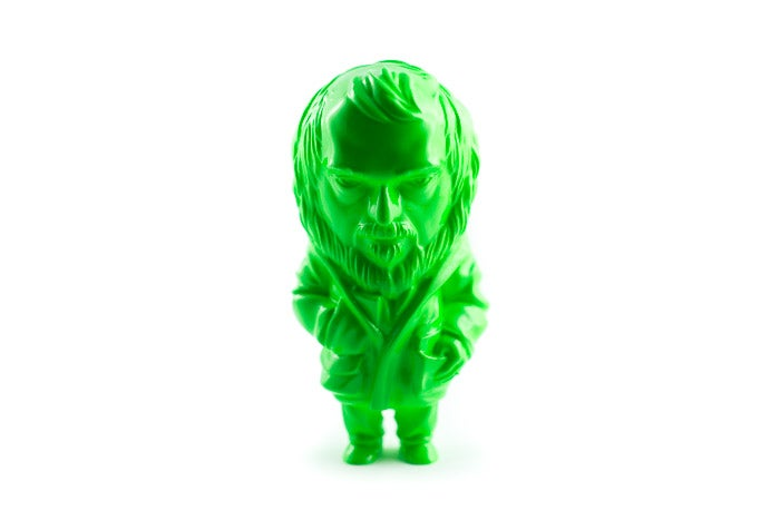 "Image of ""KUBREY, a resin tribute"" FLUO GREEN ver."