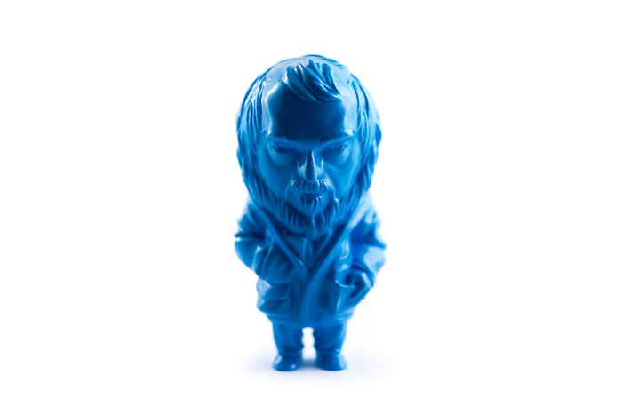 "Image of ""KUBREY, a resin tribute"" FLUO CYAN ver."