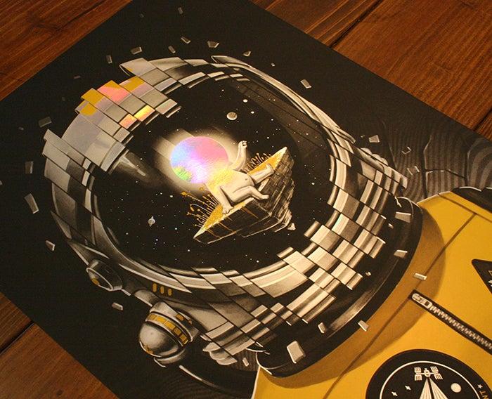 Image of The Black Keys - Tulsa, OK 14' - Holofoil edition