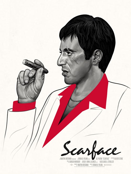 Image of Scarface (Regular & Variant)