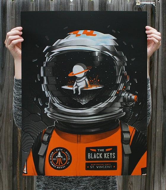 Image of The Black Keys - Austin, TX 14' - Holofoil edition